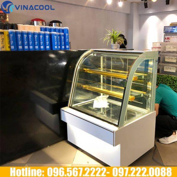 tủ mát bánh kem mini dùng cho tiệm bánh nhỏ
