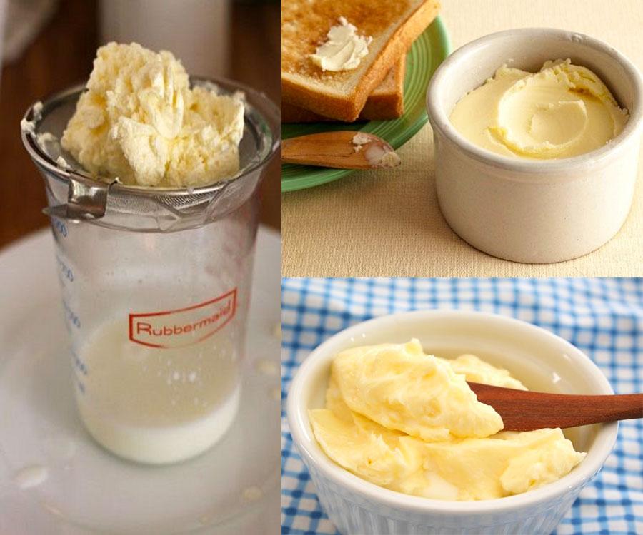 Tận dụng Whipping Cream bị tách nước để làm bơ cực hấp dẫn