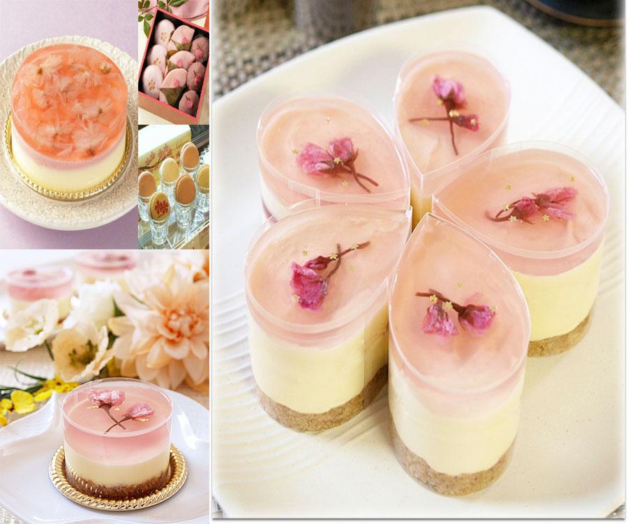 bánh phô mai sakura