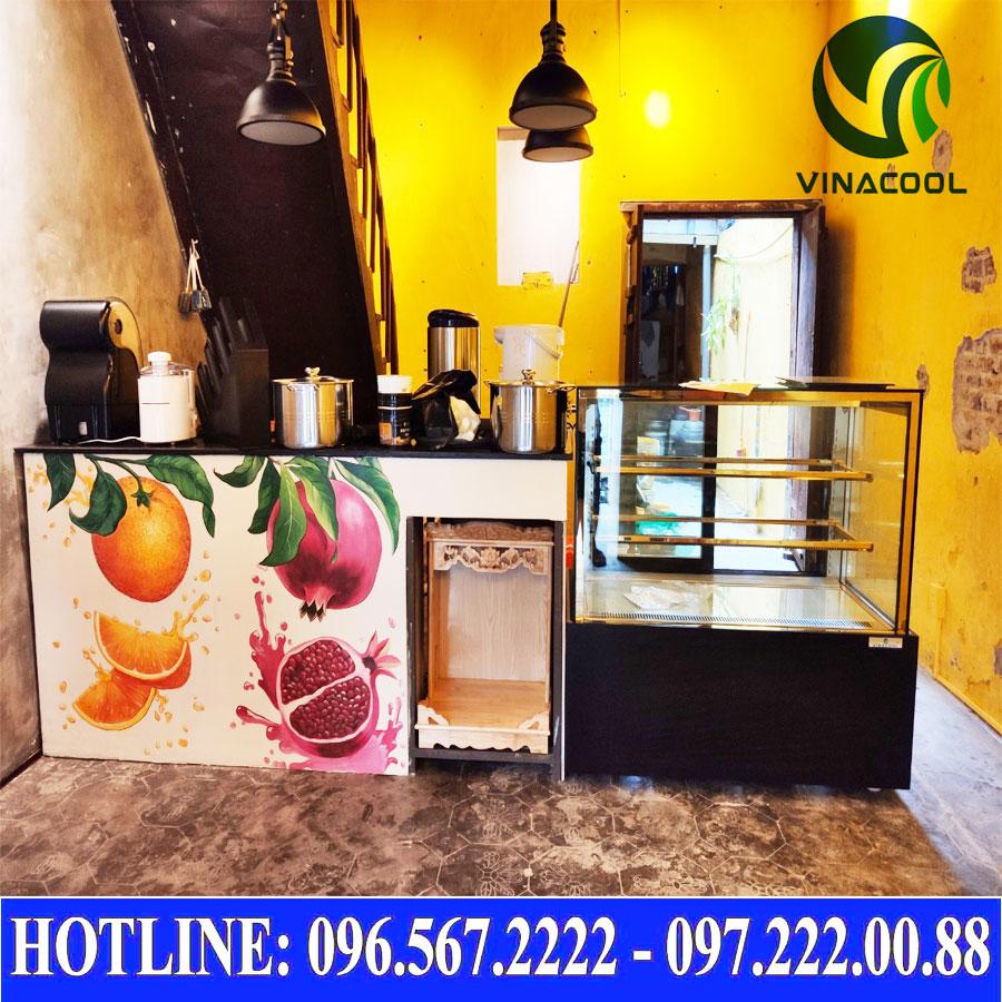 Lắp đặt tủ bánh kem Vinacool 3 tầng
