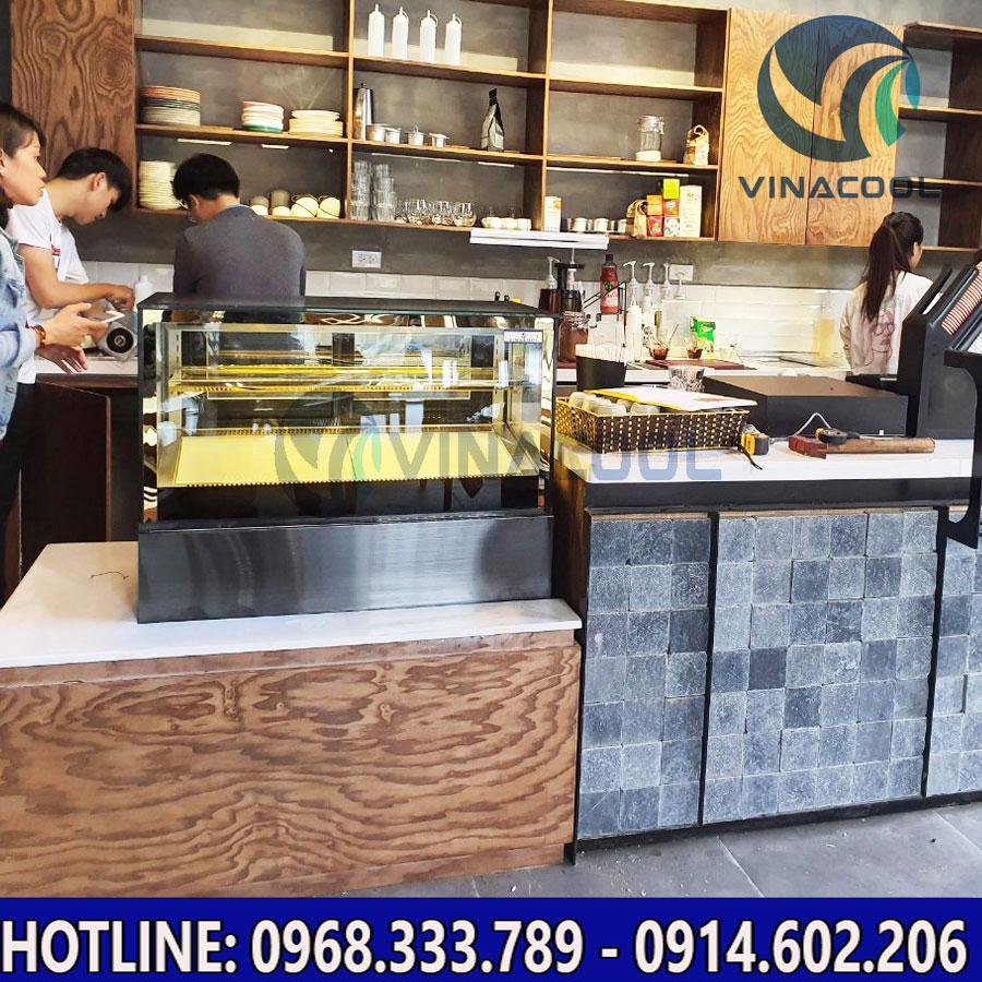 Tủ bánh kem để bàn Vinacool